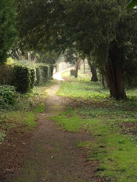 Path, rear of Croft Road, Torquay