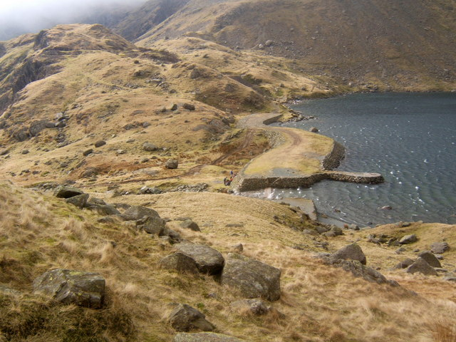 Levers Water outlet and dam