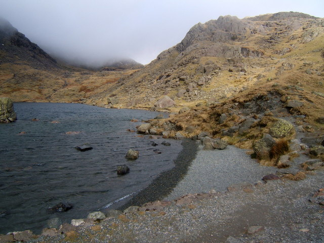 Eastern side of Levers Water