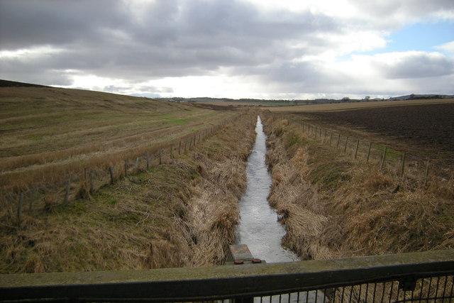 Vinny Water, near Letham, Angus, looking upstream