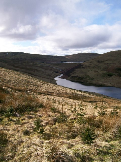 Lower and Upper Glen Devon Reservoir