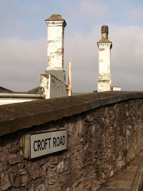 Chimneys beside Croft Road, Torquay