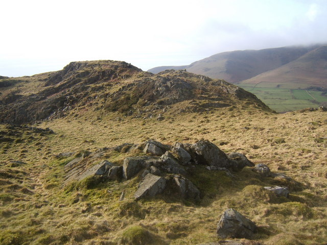 The top of Lowscales Bank