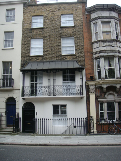 134 Albany Street early nineteenth century house
