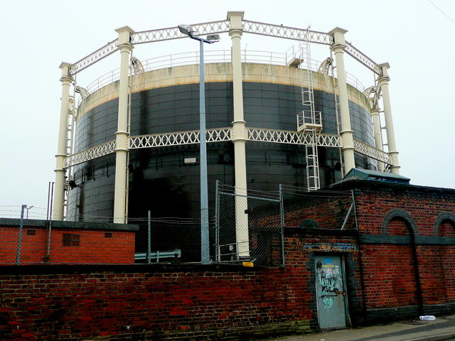 Gas holder, Garden Street, Macclesfield