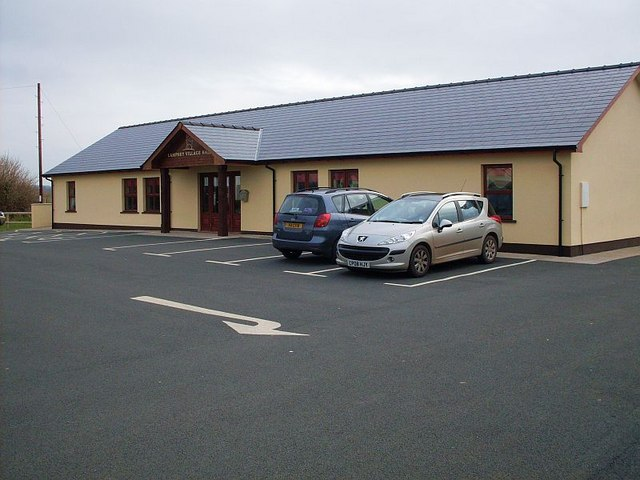 The new village hall in Lamphey
