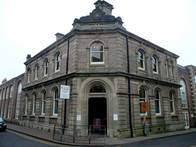 Macclesfield public library