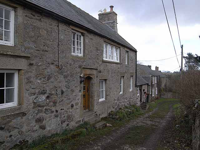 Great Bavington village centre