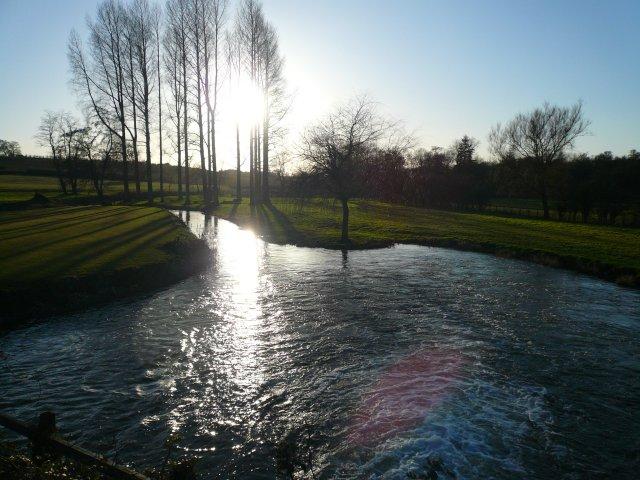 River, Bintree Mill