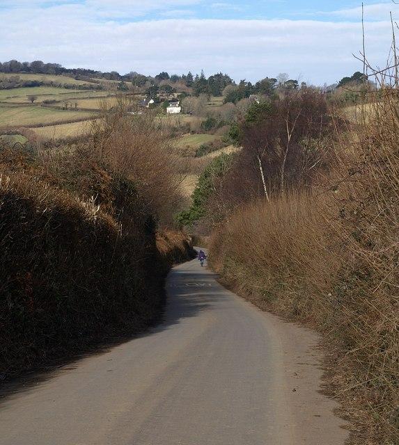 Lane near Hawson Farm