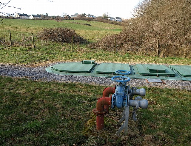 Scorriton sewage treatment works