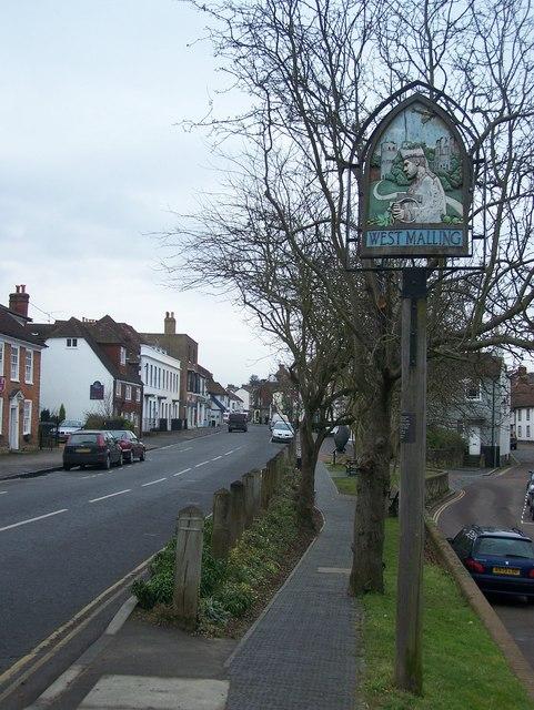 West Malling Village Sign
