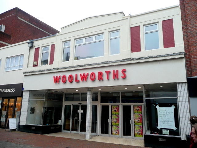Woolworths, Macclesfield