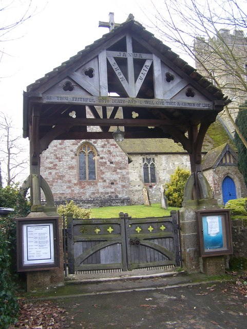 Lychgate to St Margarets Church, Addington