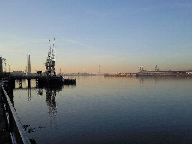 The Thames at Gravesend