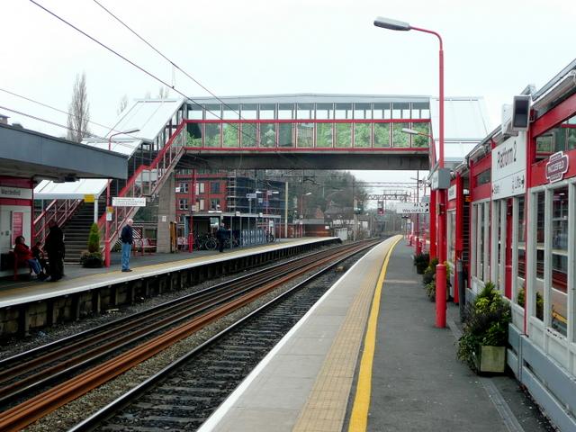 Macclesfield Railway Station 2