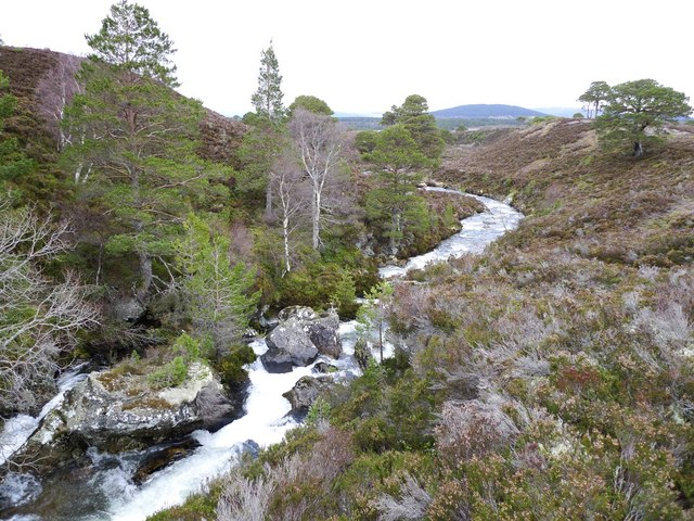 Gorge and River Nethy