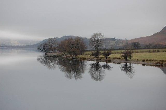 Crummock Water Lakeside near Rannerdale