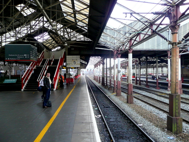 Crewe Railway Station 2