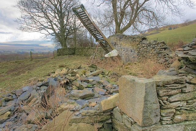 Ruin, Near Hazelhurst