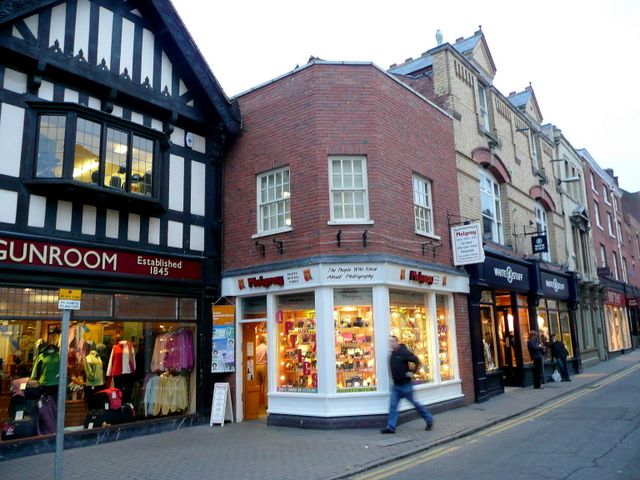Camera shop, Widemarsh Street, Hereford