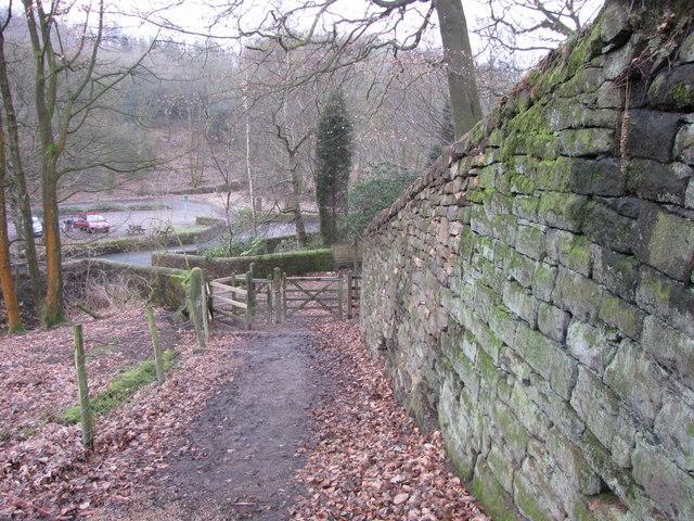 Stone Retaining Wall - repaired