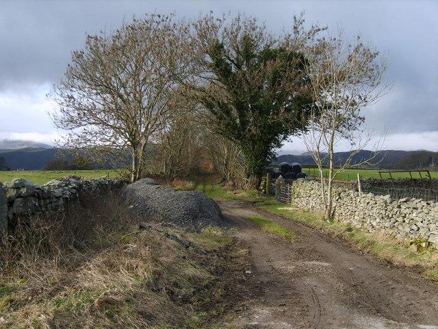 Track above Broughton
