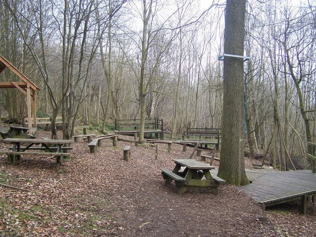 Demonstration Area in Trosley Country Park