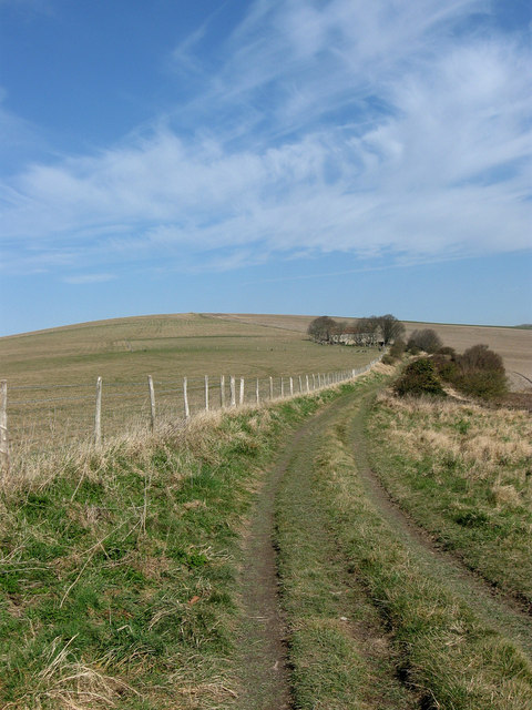Track to Beddingham Hill