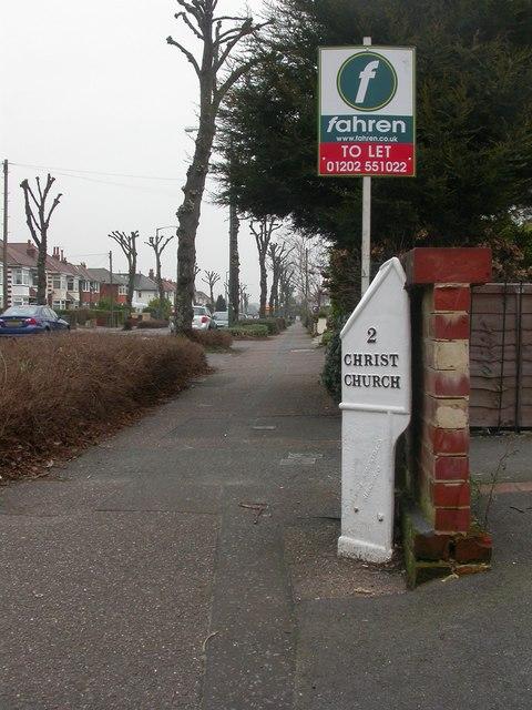 Iford, milepost