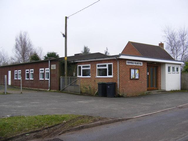 Crowfield Village Hall