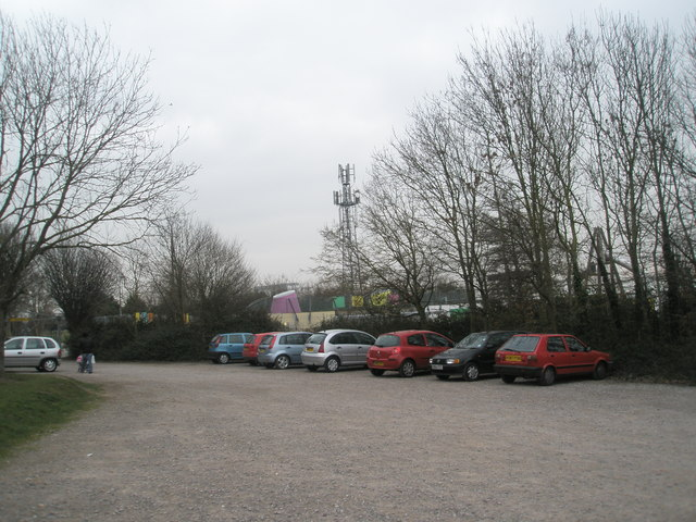 Looking from the car park at The Grove Club out into Marsden Road