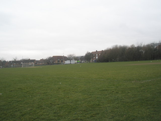 Playing fields adjacent to St Paul's RC Primary School