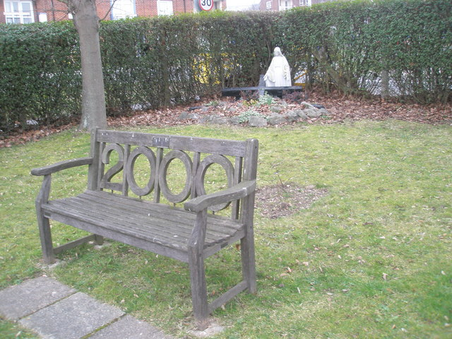 The Millennium Seat at St Paul's RC church