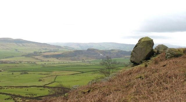 Low Crag above Halton East
