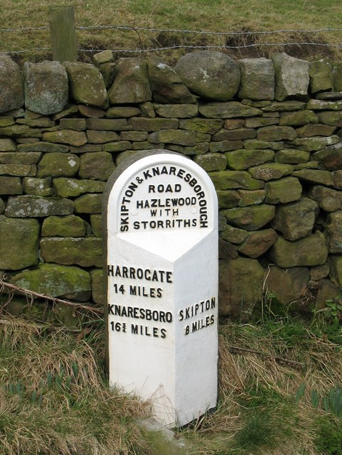 Milestone by the old A59