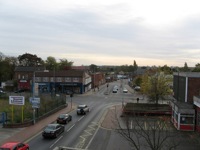 Junction of Station Road and Middle Street