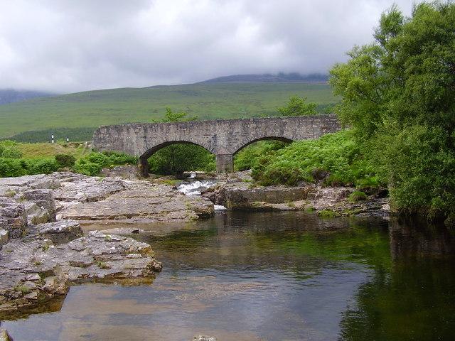 Bridge at head of loch Eriboll