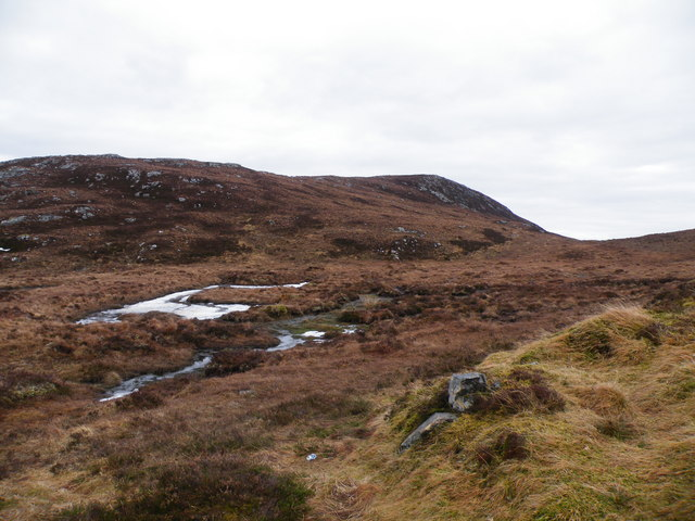 Carn an Tuairneir Moorland from Levishie Forest Track