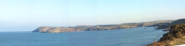Cemaes Bay from near Wylfa Head