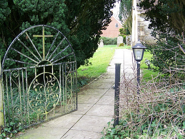 Gate, The Orthodox Christian Church of St Edward