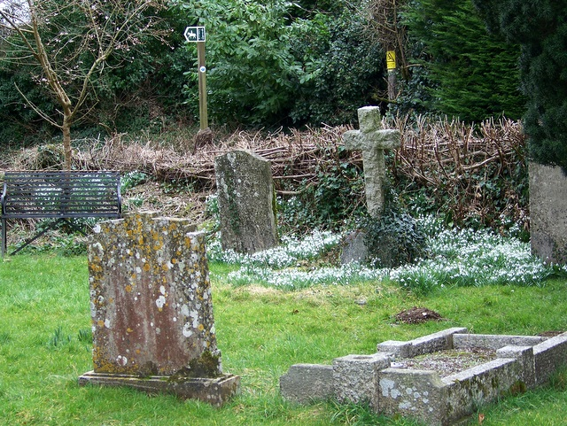 Churchyard, The Orthodox Christian Church of St Edward