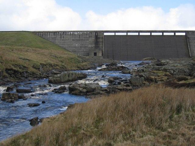 The River Tees below Cow Green Dam