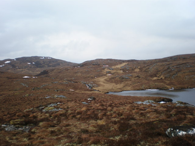 Loch Carn Tuairneir Beag Inlet