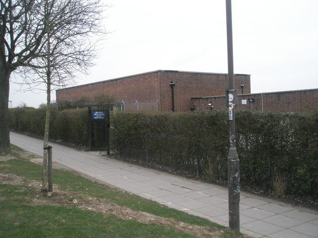 The top hall at Paulsgrove Primary School