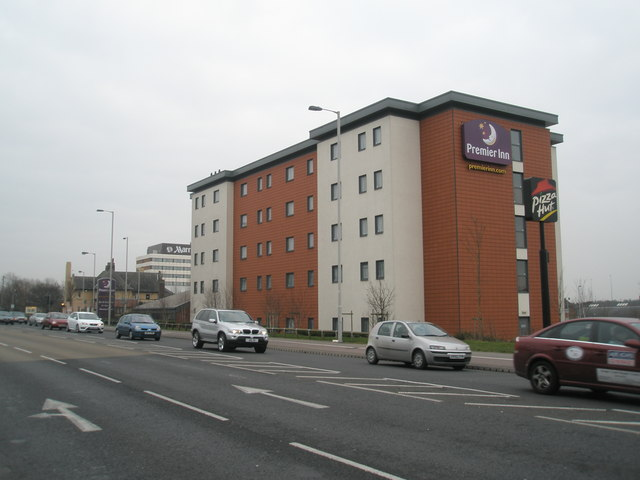 The Premier Inn on Southampton Road