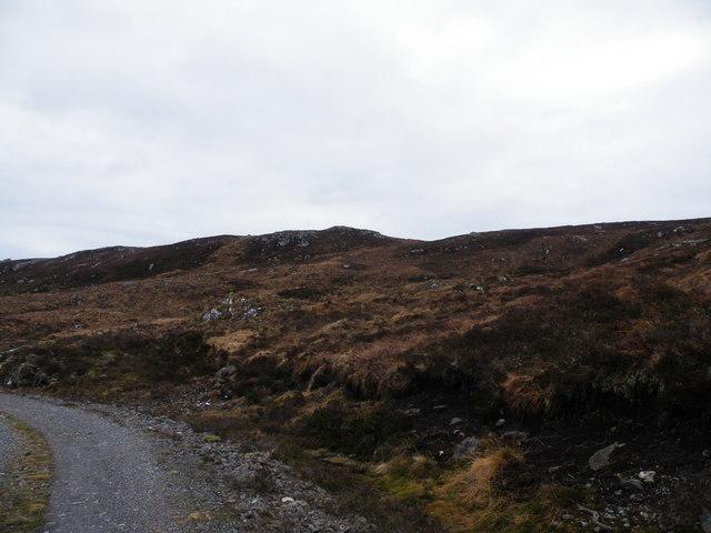 Levishie Forest Track near Loch an Dubhair