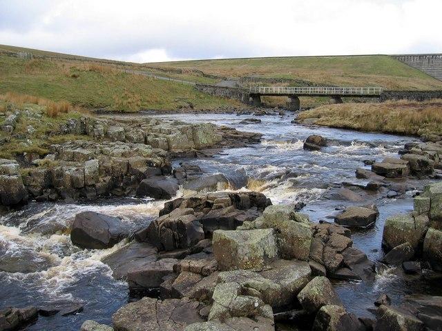 The River Tees above Cauldron Snout