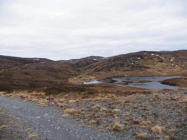 Loch an Dubhair from Hydro Track