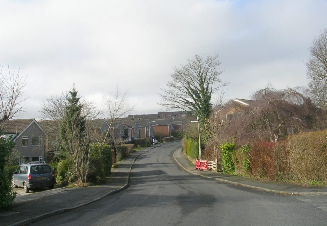 St Richards Road - viewed from Kell Beck